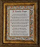 A Parent's Prayer - Framed Inspirational Blessing - Baby Gift for Twins or Multiple Children