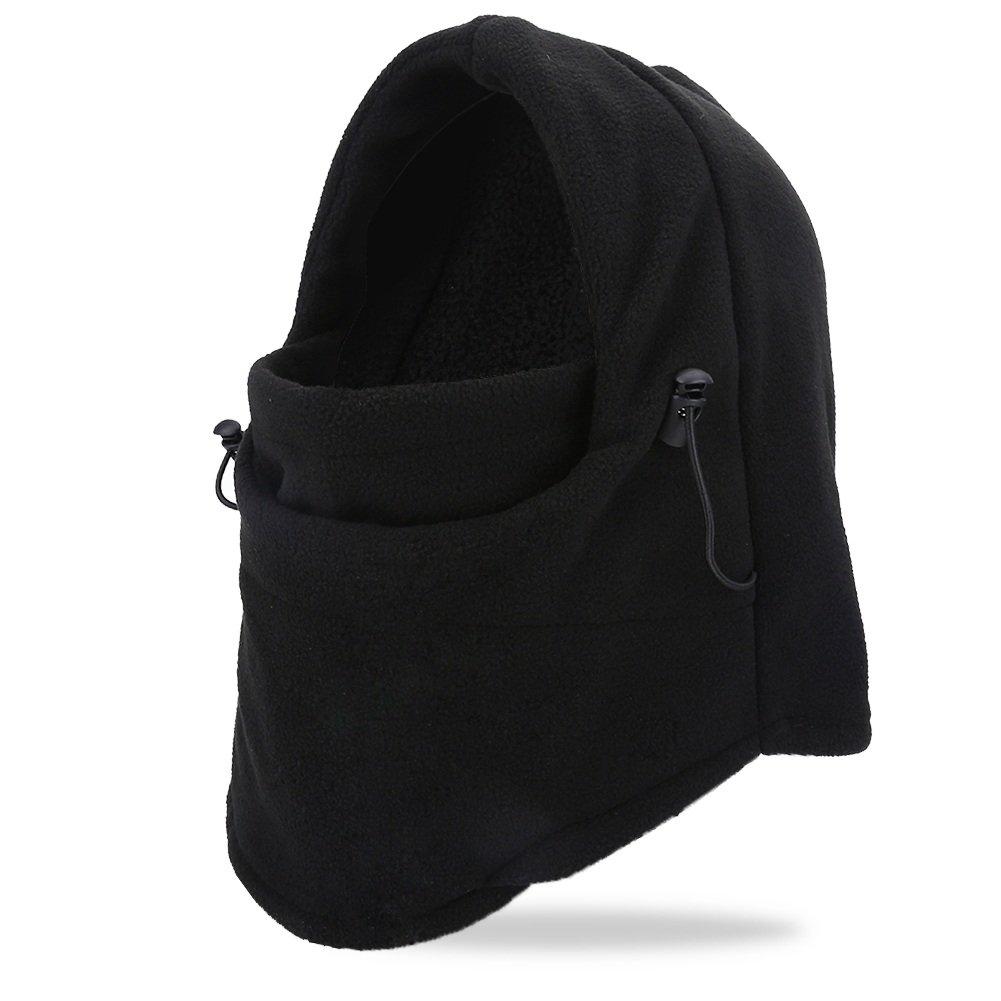 2pcs Pasamontañas Mascara Protección Cuello Caliente para Ciclismo Esquí Deportes Invierno Unisexo (Color : Negro) : Amazon.es: Deportes y aire libre