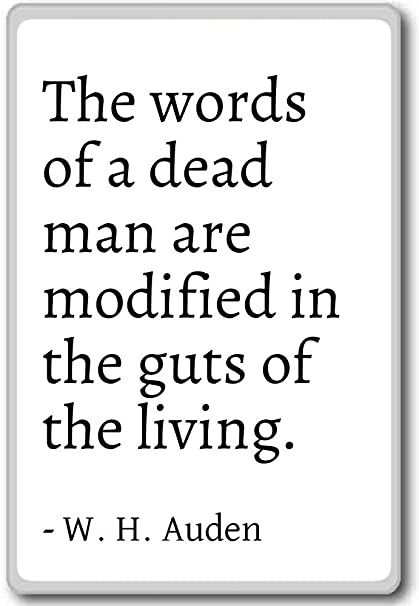 Amazoncom The Words Of A Dead Man Are Modified In The Gut