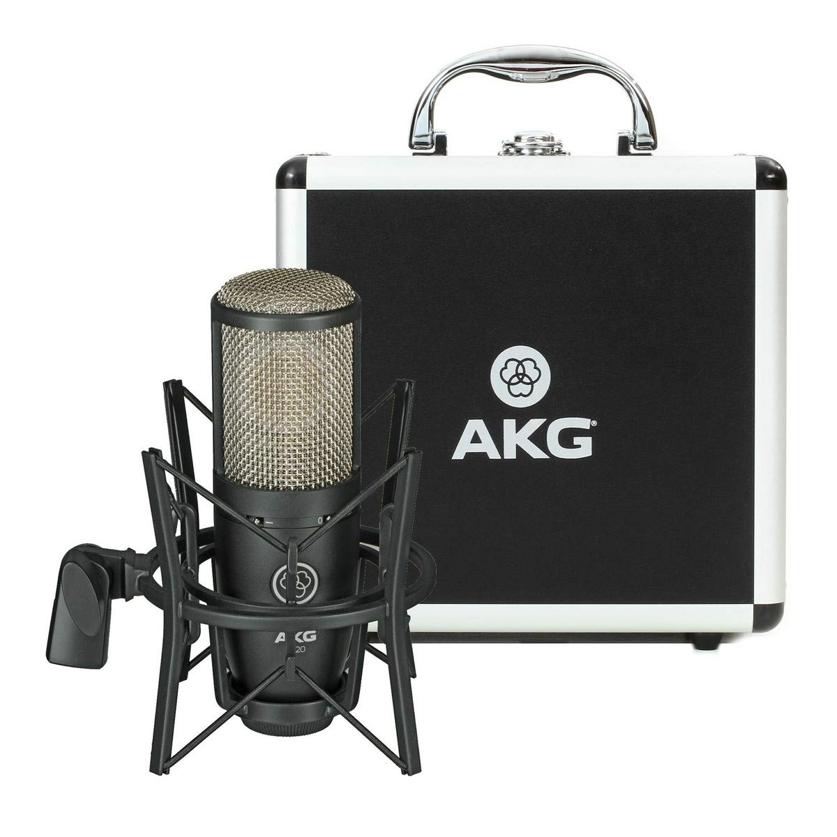 AKG Vocal Condenser Microphone, Black, 6.00 x 8.00 x 12.00'' (3101H00420) by AKG (Image #5)