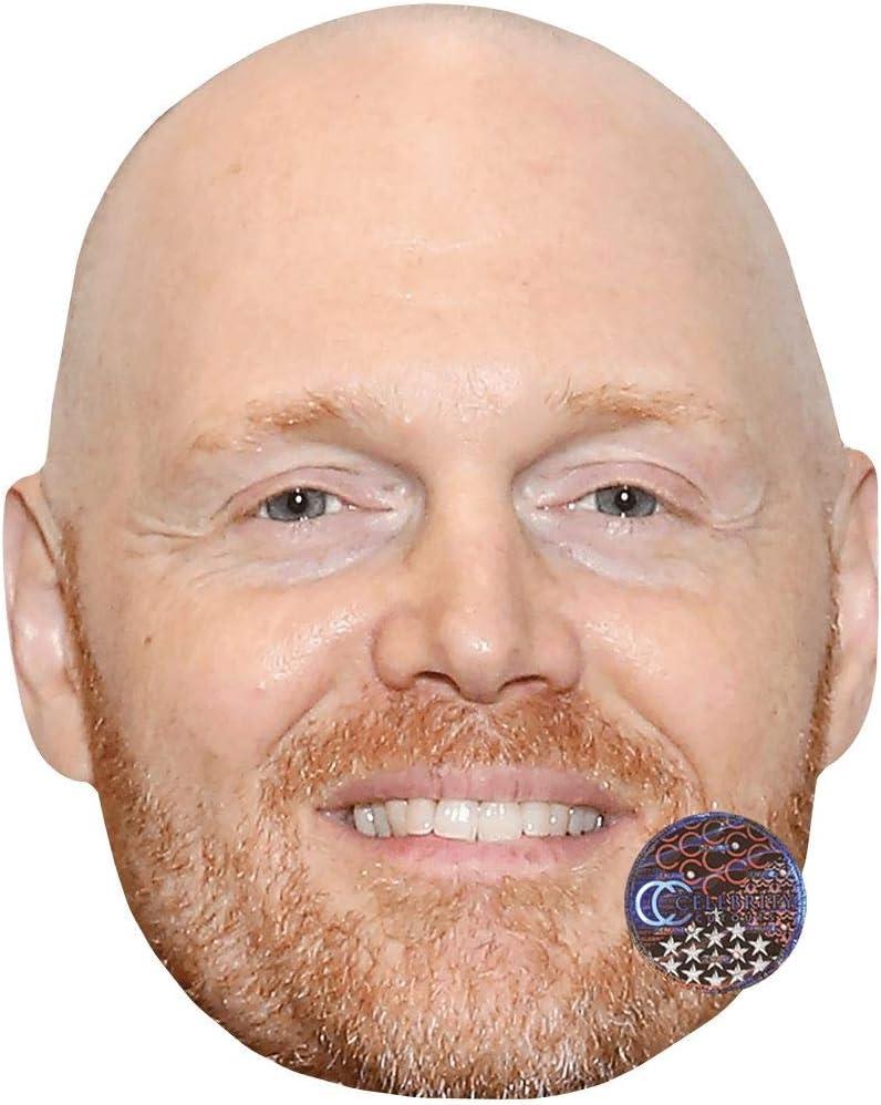 Celebrity Mask Card Face and Fancy Dress Mask Bill Burr Beard