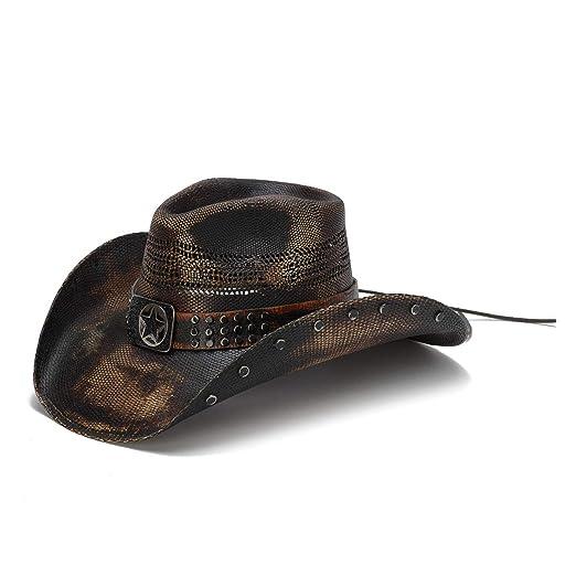 d97d1641 Stampede Hats Men's Big Lone Star Studded Lone Star Western Hat