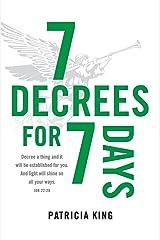 Seven Decrees for Seven Days Paperback