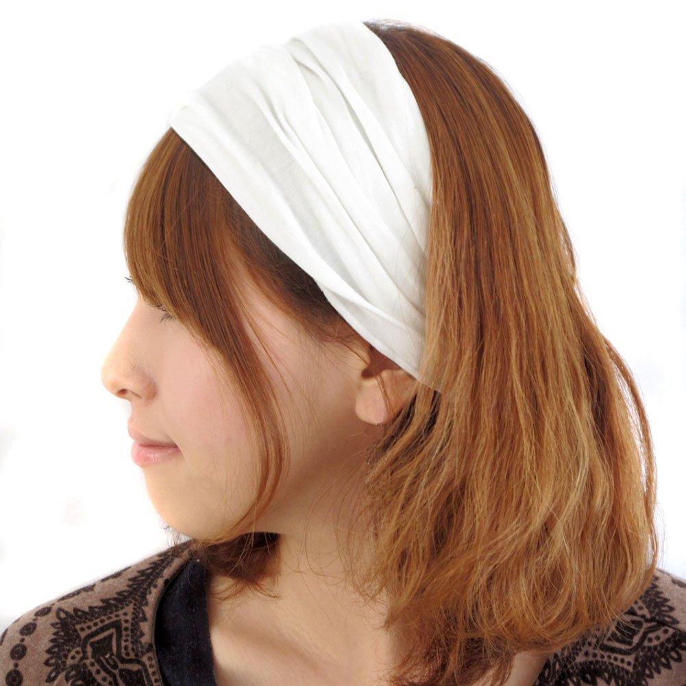 Casualbox Uomo testa copertina fascia bandana allungamento capelli stile giapponese
