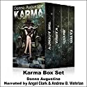 Karma Box Set Audiobook by Donna Augustine Narrated by Andrew B. Wehrlan, Angel Clark