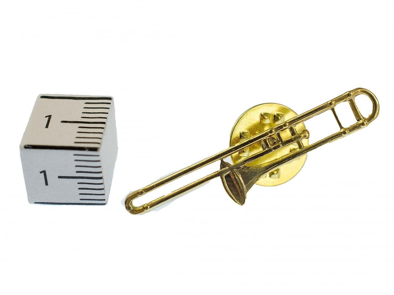 Miniblings Trombón Broche Pines distintivos de Instrumentos ...