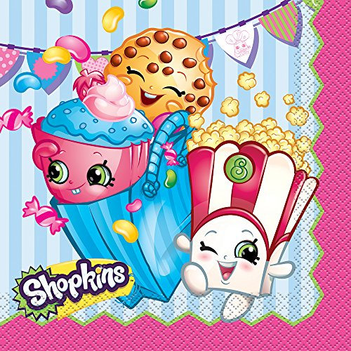 Shopkins Party Napkins, 16ct -