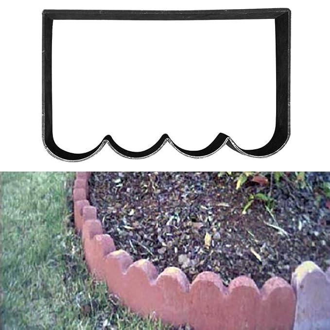 TuHao - Molde para Hacer Caminos, Reutilizable, diseño de Piedra de Cemento, Molde para Hacer pavimentos, pavimentos, pavimentos, Patios, pasarelas (41 x 25 ...