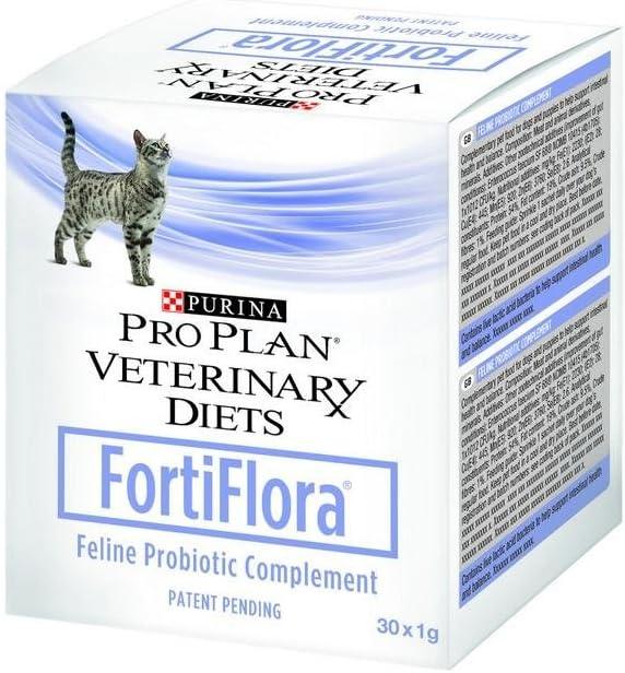 Purina Fortiflora–Complemento alimenticio para Gatos (Doses de 1G)