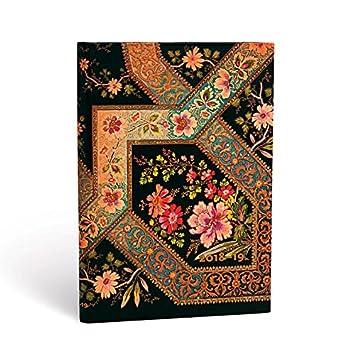 Paperblanks Filigrana Floral Ebony Midi - Agenda escolar ...