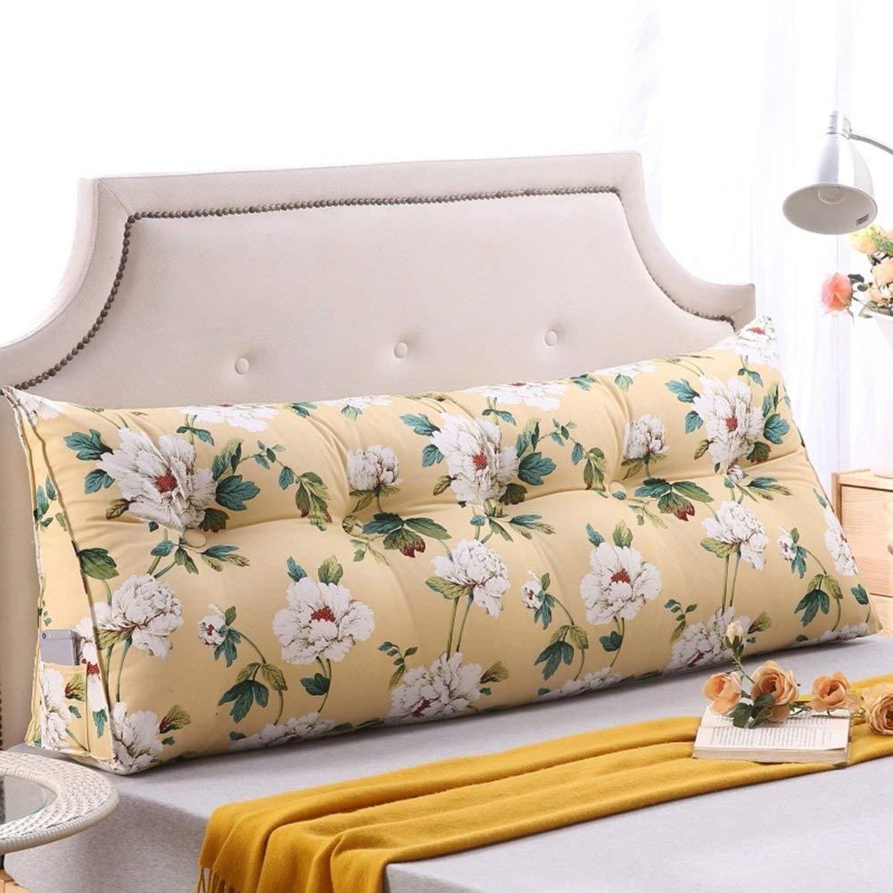 ベッドロング枕枕ヘッドボードソフトバッグダブルベッドルームソファー畳綿大クッション(11色、複数サイズ) (色 : 11#, サイズ さいず : 150 × 50 × 25cm) B07R2L4WK2 11# 150 × 50 × 25cm