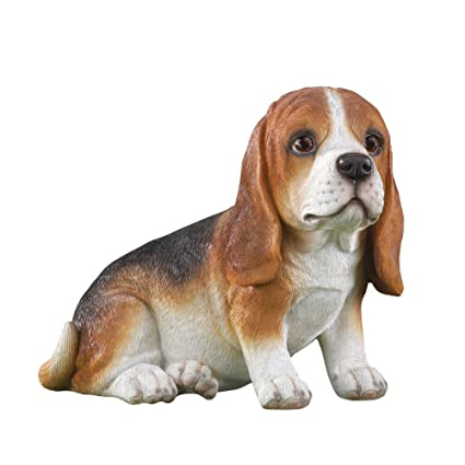 Collections Etc Buddy Beagle Dog Outdoor Garden Statue
