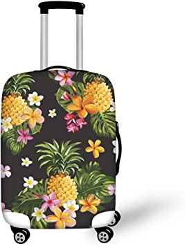 3D Target Business Print Luggage Protector Travel Luggage Cover Trolley Case Protective Cover Fits 18-32 Inch