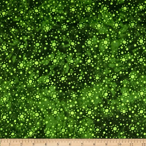 (Essential 108 Backing Dot Burst Green Fabric)