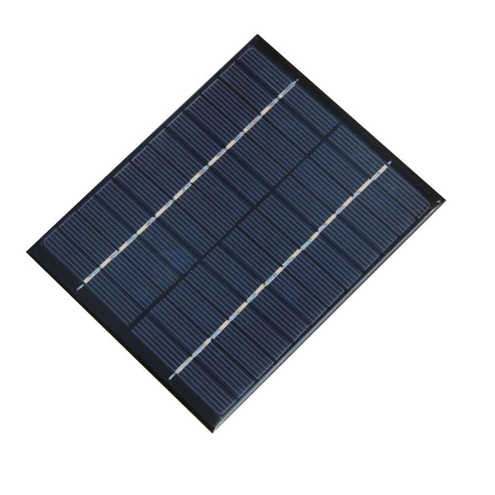 NUZAMAS 2W 12V 160ma Mini Solar Panel Module Solar System Cell Outdoor Camping Battery Charger DIY Parts
