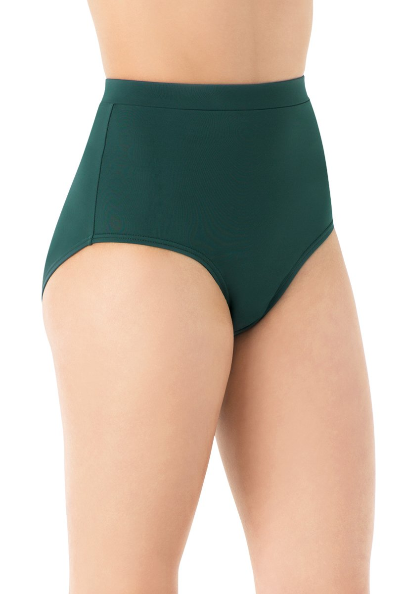 Balera Briefs Girls for Dance Womens Trunks Natural Rise Waist Bloomers Forest Child Large by Balera