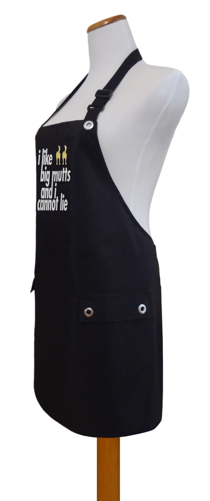 Trendy Salon Aprons Waterproof Pet Dog Groomers Grooming Apron, I Like Big Mutts by Trendy Salon Aprons