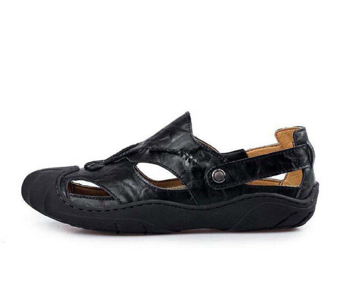 Sandalias De Verano Sandalias Ocasionales De Los Hombres Sandalias 45 EU Black