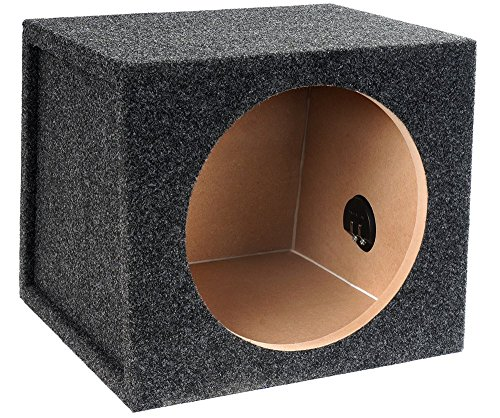 E12S Single Carpeted Subwoofer Enclosure