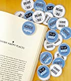 Motivational #3 Bookmarks - 36 Bulk Bookmarks for Kids girl's boys- School Student Incentives – Library incentives – Reading Incentives - Party Favor Prizes - Classroom Reading Awards!