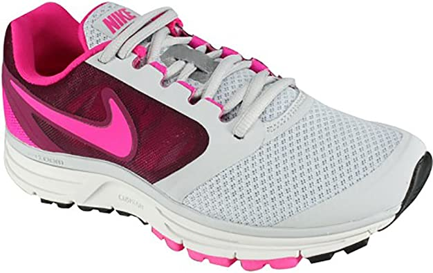 Nike Zoom Vomero+ 8 - Zapatillas de running para mujer, Gris (Us Pure Platinum/Raspberry Red/Pink Foil), 12 B(M) US: Amazon.es: Zapatos y complementos