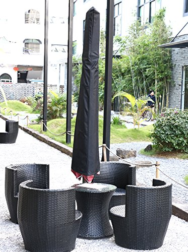 Yaheetech waterproof uv resistant 600d patio garden for Uv patio furniture covers