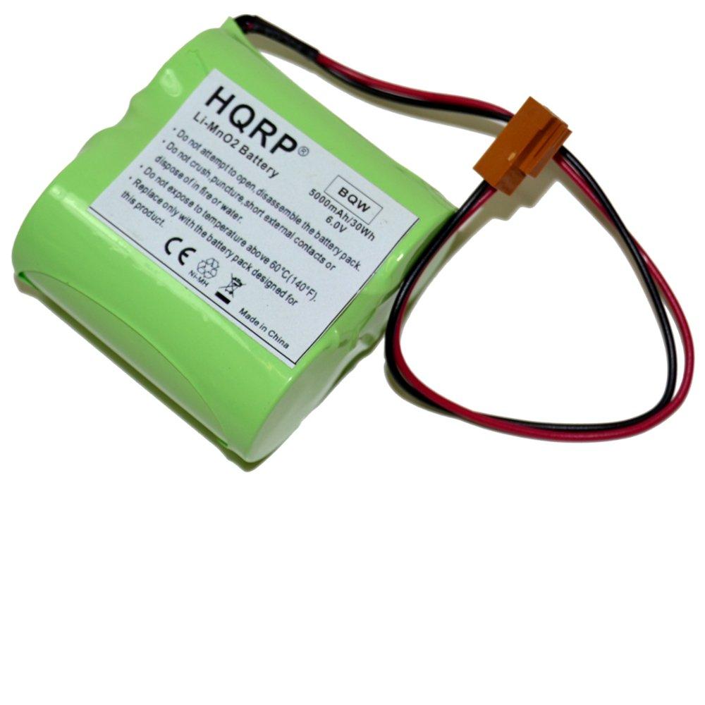 HQRP 6 Vバッテリーfor GE br-ccf2th br-2 / 3 a br-agf2 W br-c ( 2 ) br-ccf2te CNC PLC + HQRPコースター B015OG1TMW