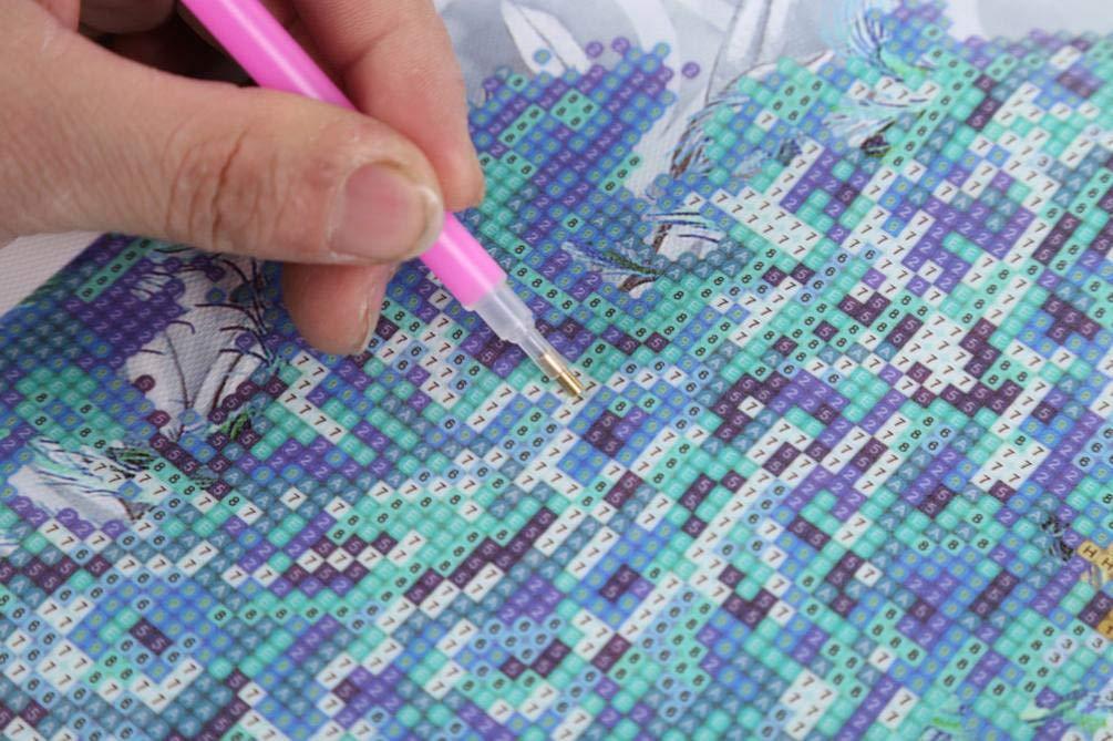 Pintura Diamante de BaZhaHei, Diy 5D pintura diamante bordado del carro artesanía cruzada puntada decoración para el hogar del Taladro de punta de diamante ...