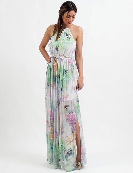 KOCCA Vestido Abarenn Estampado para Mujer XL: Amazon.es: Ropa y accesorios
