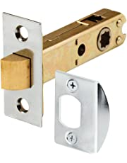 Prime-Line Products E 2440 Mortise Latch Bolt, Square Drive, Chrome Plated