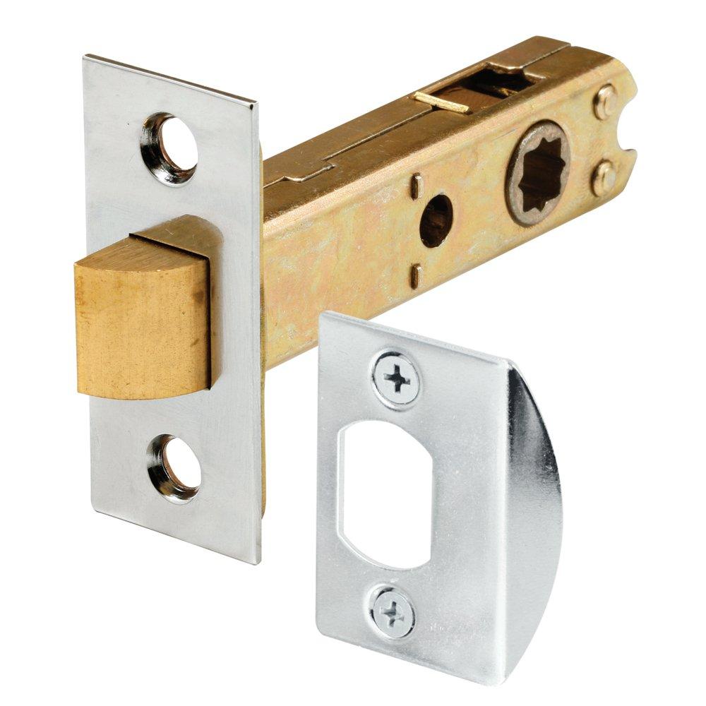 Prime-Line Products E 2440 Passage Door Latch 9/32 in. \u0026 5/16 in. Square Drive Steel Chrome Finish - Bi Fold Door Hardware - Amazon.com  sc 1 st  Amazon.com & Prime-Line Products E 2440 Passage Door Latch 9/32 in. \u0026 5/16 in ...