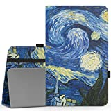 MoKo Samsung Galaxy Tab A 10.1 Case - Slim Folding Cover with Auto Wake/Sleep for Samsung Galaxy Tab A 10.1' 2016 Tablet (SM-T580 / SM-T585, No Pen Version), Starry Night
