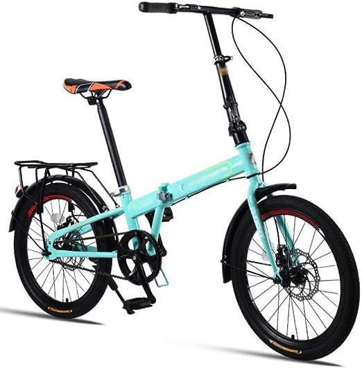 Bicicleta plegable, plegable bicicleta de montaña mujeres de los ...