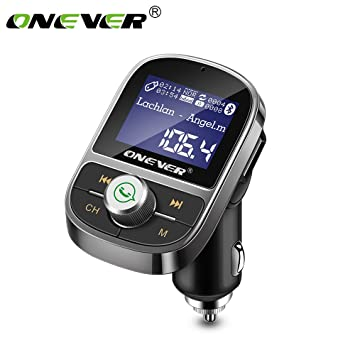ONEVER HY29 Bluetooth FM Reproductor MP3 Transmisor 3.1A ...
