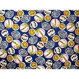 SheetWorld Crib / Toddler Sheet - Safari Animal Circles - 28 inches x 52 inches (71.1 cm x 132.1 cm) - Made In USA