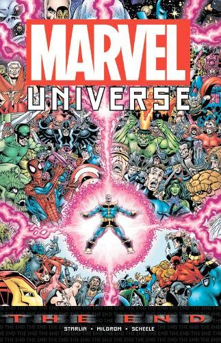 Marvel Universe Book - Marvel Universe: The End