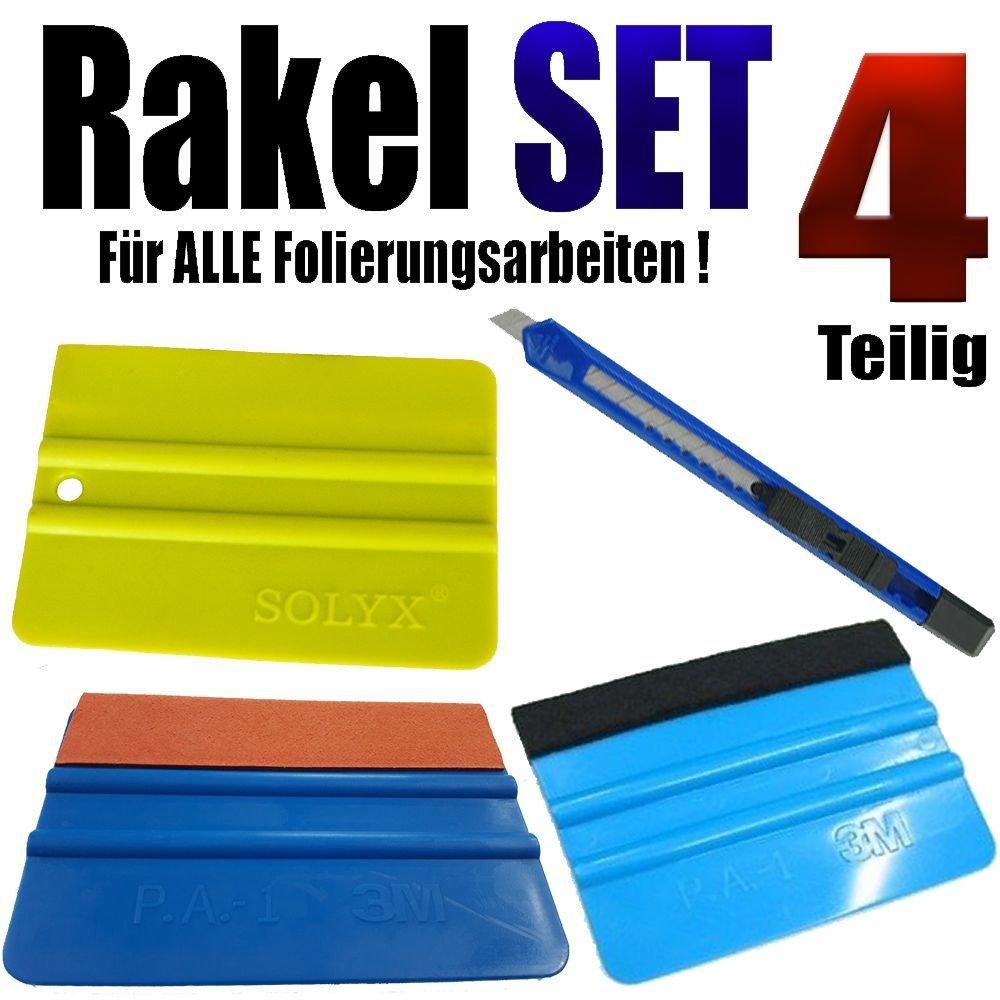 Rakel Set fü r alle Folierung Arbeiten 4 Teilige Profi Set www.leonfolien-shop.de