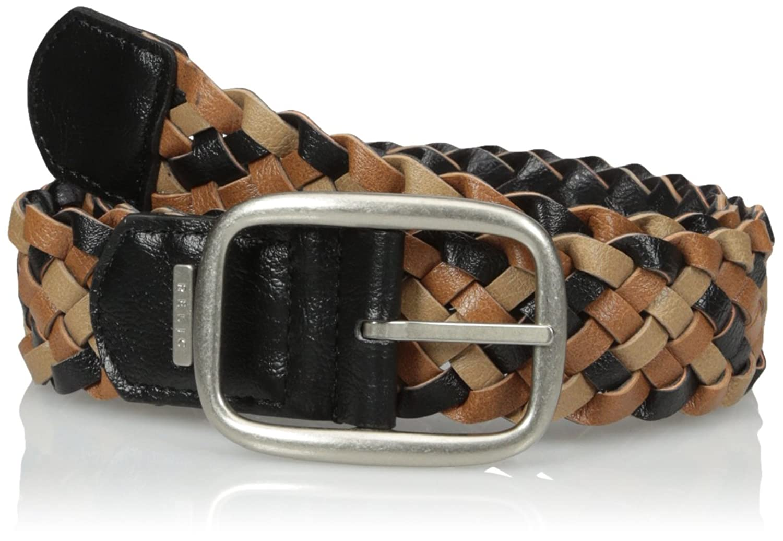 Relic Women's Mixed Braid Reversible Belt