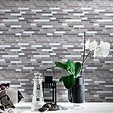 Art3d Peel and Stick Wall Tile for Kitchen / Bathroom Backsplash, 12