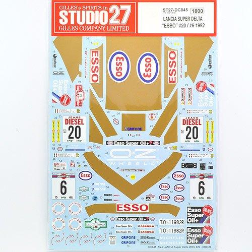 【STUDIO27/スタジオ27】1/24 ランチア スーパーデルタ サンレモ 1992