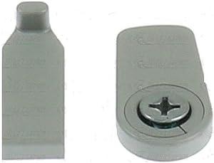 Dometic 2952140032 Refrigerator Grey Complete Door Lock