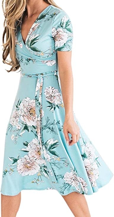 summer floral sundress