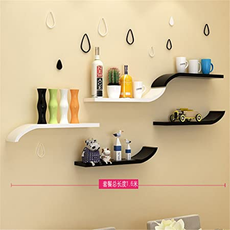 Wall rack shelf Storage Decorations/Bookcases-Creative Sled Bars ...