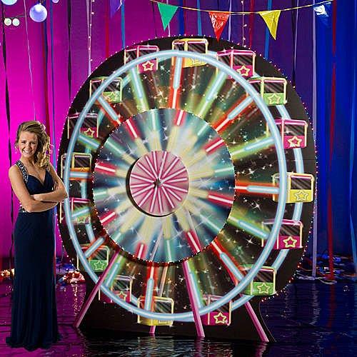 9 ft. Electric Carnival Ferris Wheel