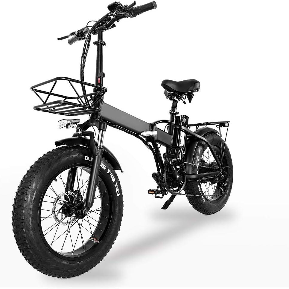 XXCY MX20 Bicicleta Plegable Eléctrica Bicicleta Plegable Unisex ...