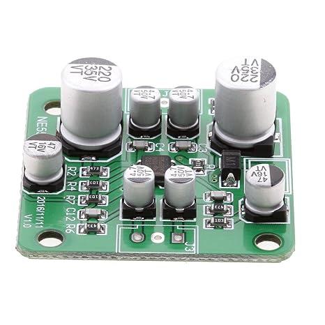 Magideal NE5532 Amplifier Module Board 4558 LM833 LT1057 AD827 OPA2604  (Green)