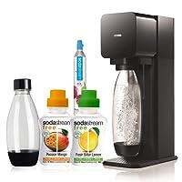 SodaStream Plastic Sparkling Water Machine, Mega Pack, Black- PARENT