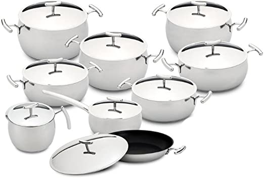 Silampos Domus Stainless Steel Casserole Pot Various Sizes Made In Portugal