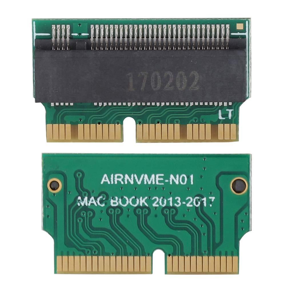 Zerone Tarjeta adaptadora de Disco Duro convertidor de SSD a NVME ...