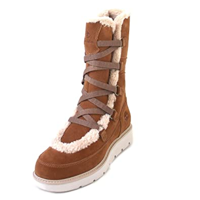 Timberland Womens Kenniston Muk Tall Tan Suede Boots 8 US